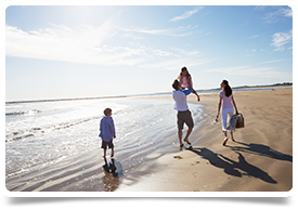 Beach Family Picnic