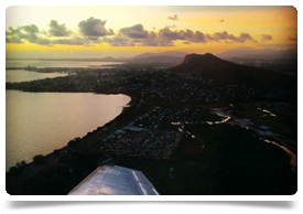 Townsville from Air Ambulance by Christer Oldin