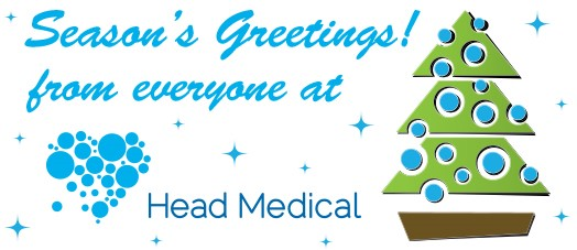 Season's Greetings from everyone at Head Medical!