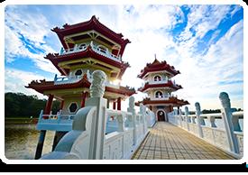 Pagodas, Chinatown - Singapore