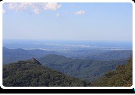Best of All lookout in Queensland Australia
